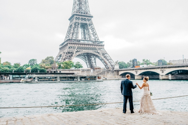 romantic elegant french couple