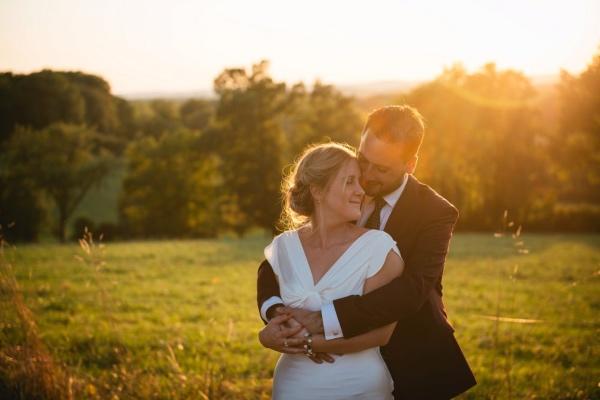 romantic france couple wedding