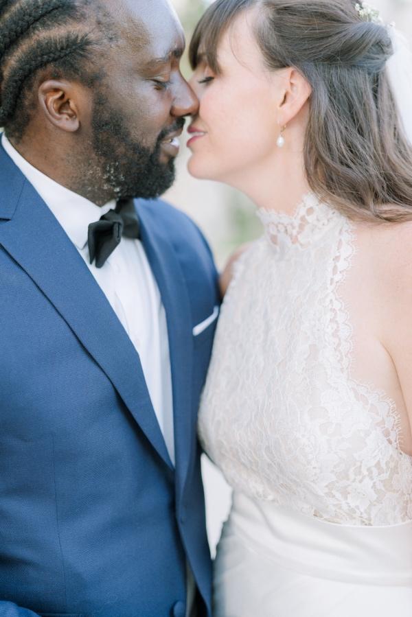 romantic kissing couple