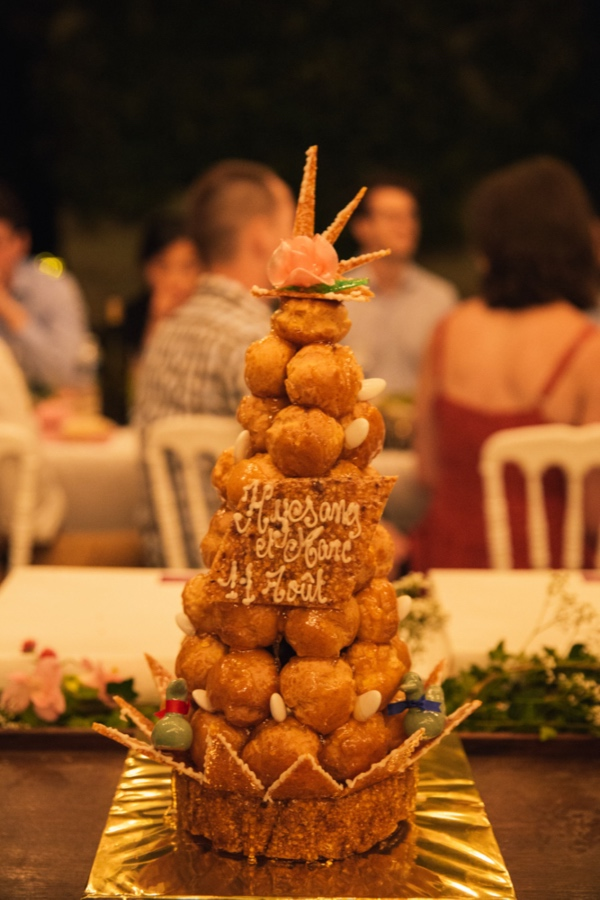 traditional french wedding cake