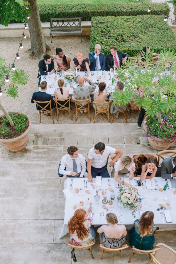 wedding breakfast france