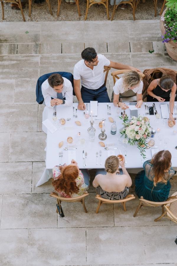 wedding breakfast photo