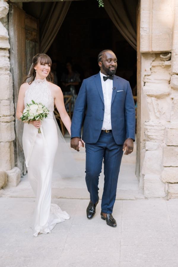 wedding couple married