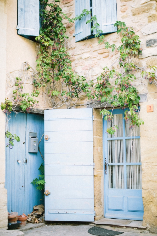 Blue Provence Wedding