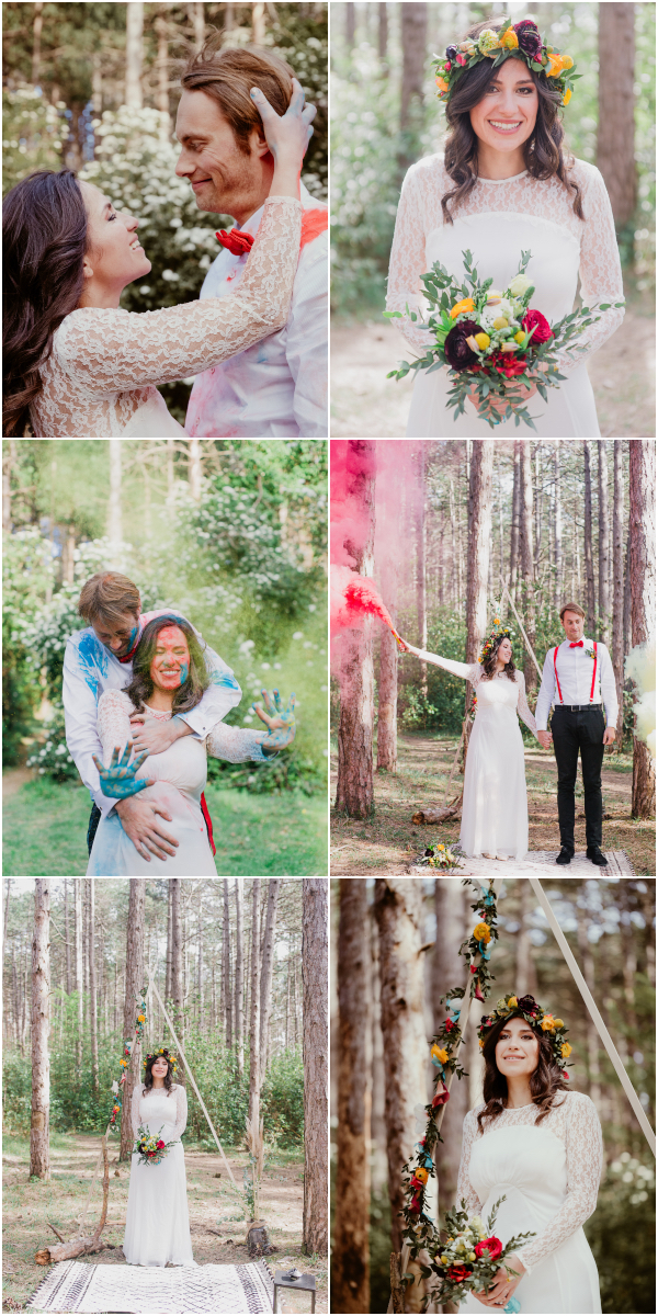 Boho Trash the Dress France Snapshot