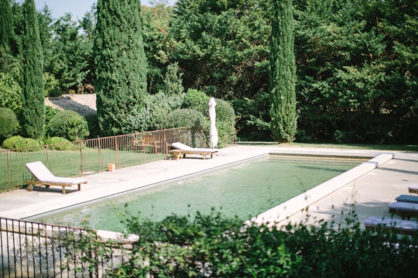Château de la Tour Vaucros Pool
