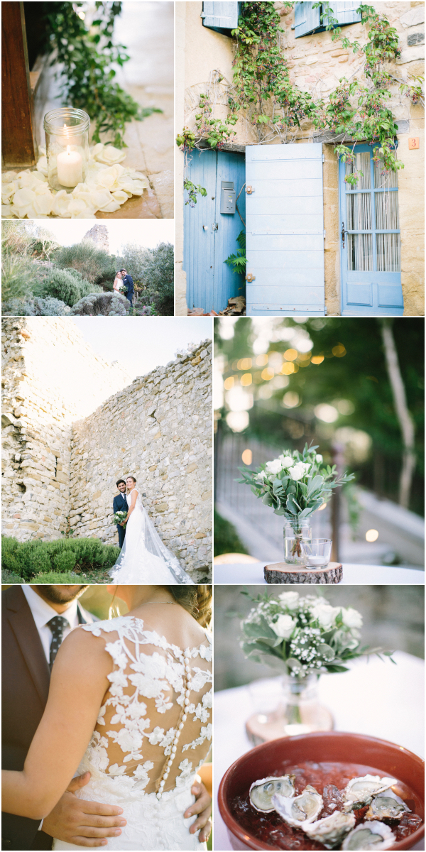 Dreamy destination wedding Château de la Tour Vaucros Snapshot