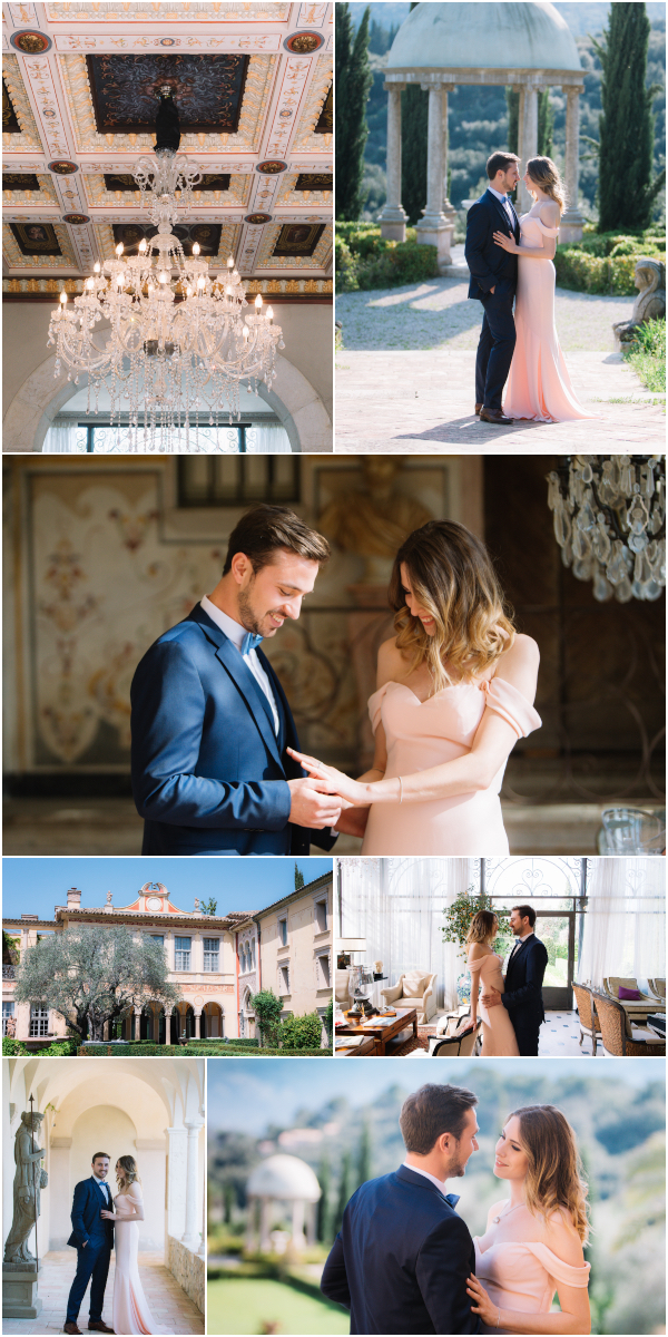 Elegant Chateau Diter Wedding in French Riviera Snapshot