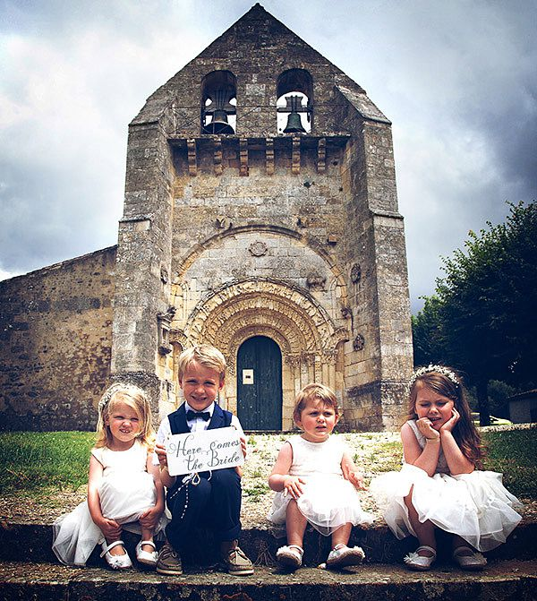 Elian Concept Weddings Children at French Weddings Cortege