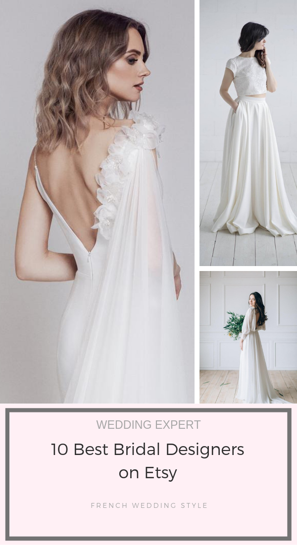 10 Best Bridal Designers On Etsy