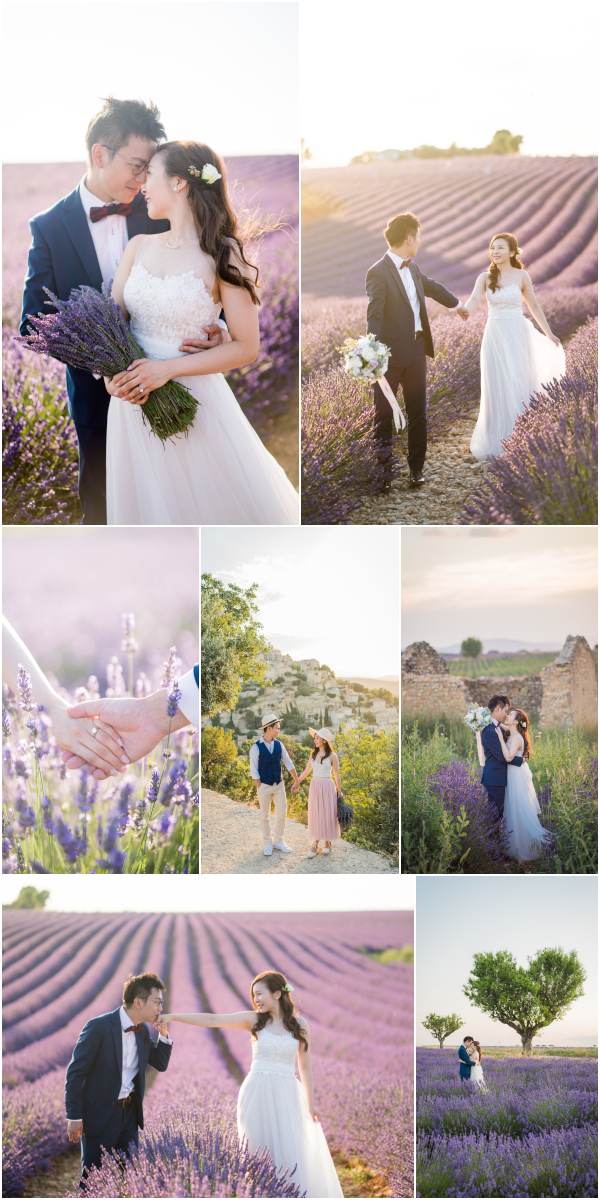 Lavender Engagement Wedding Photography Provence Snapshot