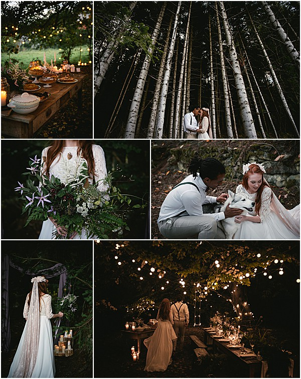 Mystical Woodland Wedding snapshot