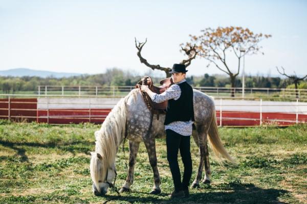 Nature Horse Wedding