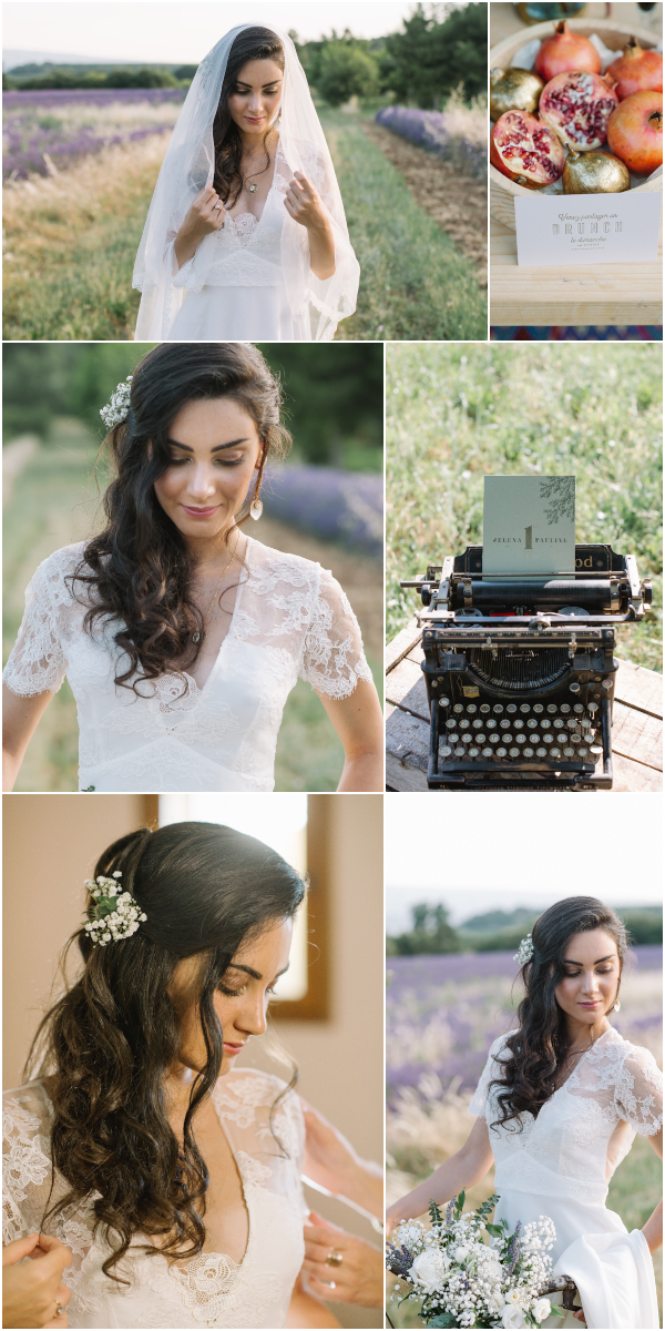 Relaxed romantic wedding in Luberon France Snapshot