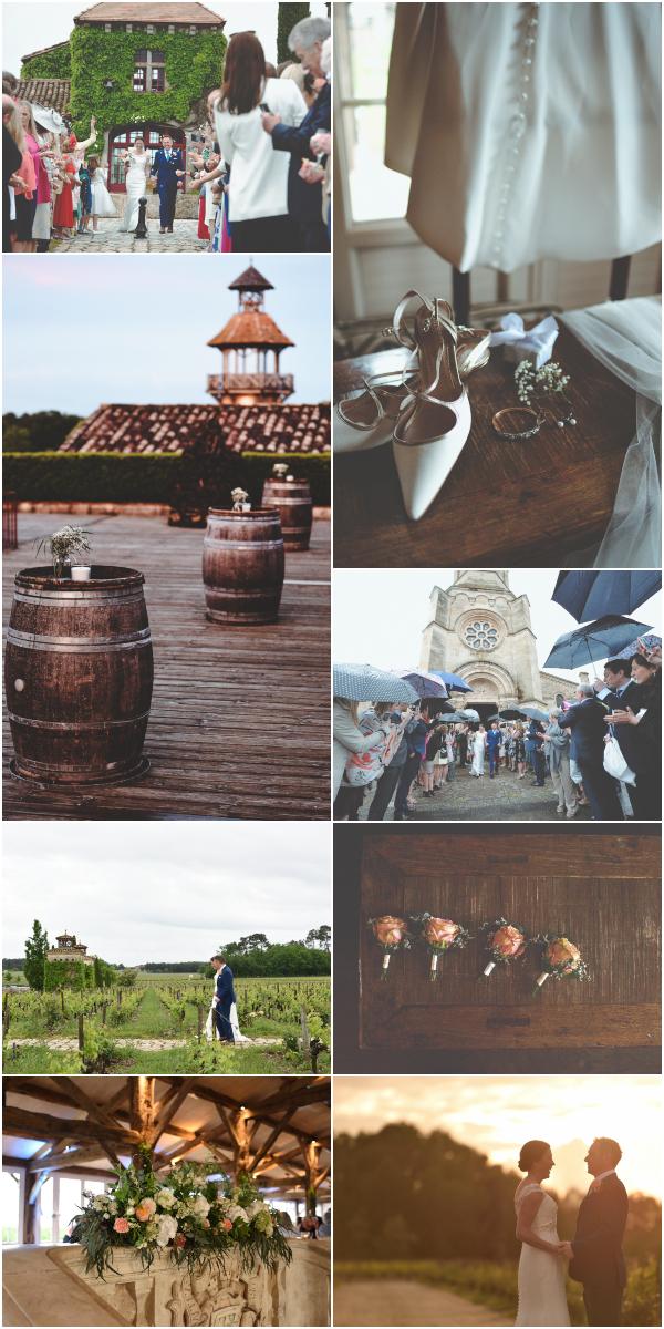 Romantic Chateau Smith Haut Lafitte wedding Snapshot