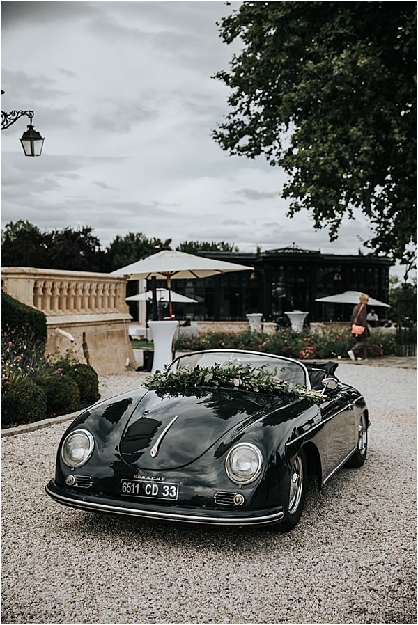 a super cool wedding Porsche 356 speedster