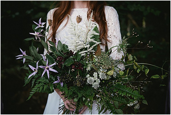bridal bouquet in France the Rhone Alps