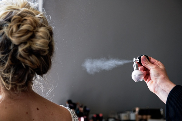 bridal hair spray