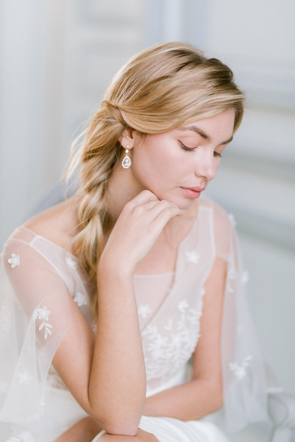 bridal long hairstyle