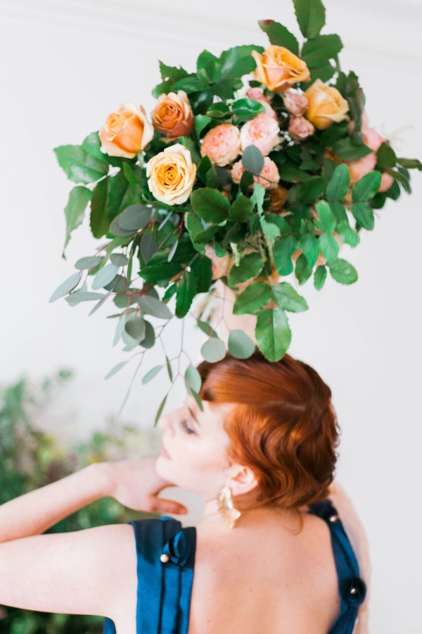 chic bridal florals