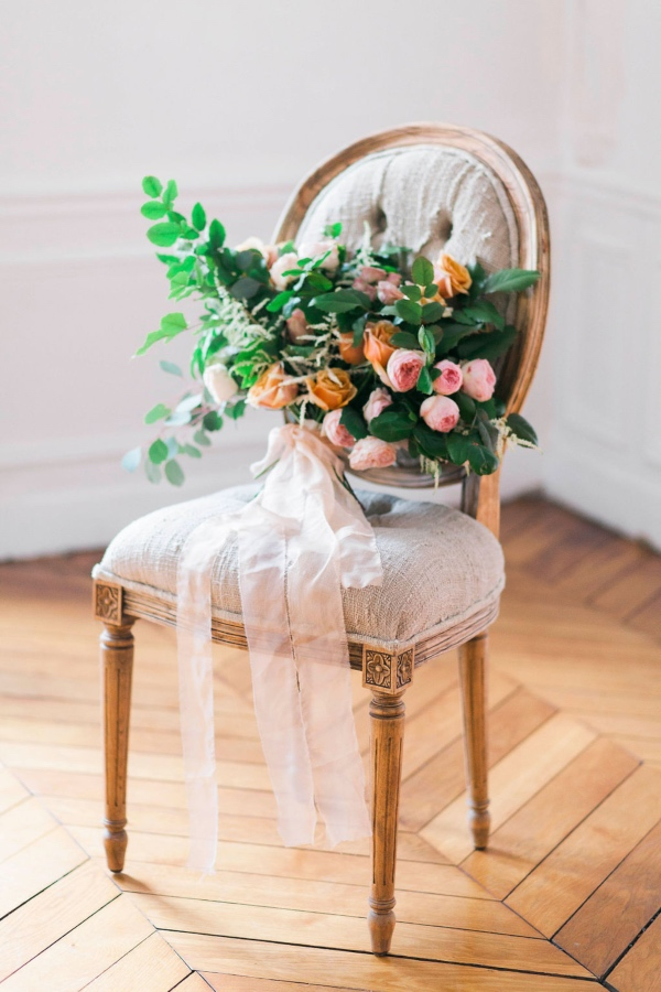 chic paris wedding chair