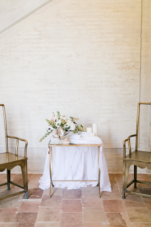 chic wedding table decor