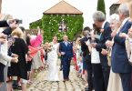confetti moment wedding