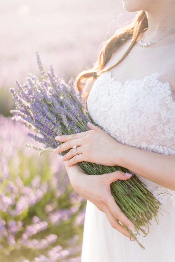 detailed lavender bouquet