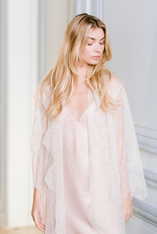 elegant bridal shawl