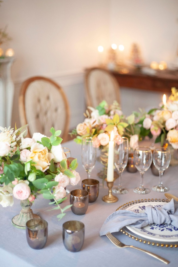 elegant chic table decor