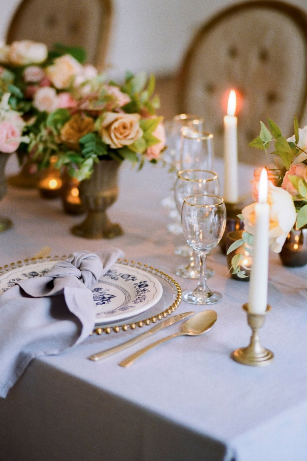 elegant chic table design
