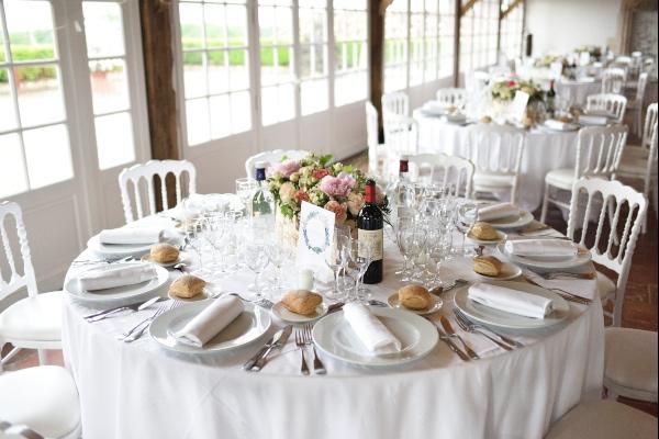 france chateau table decor