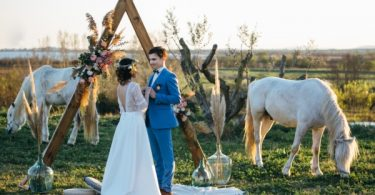 france country style wedding
