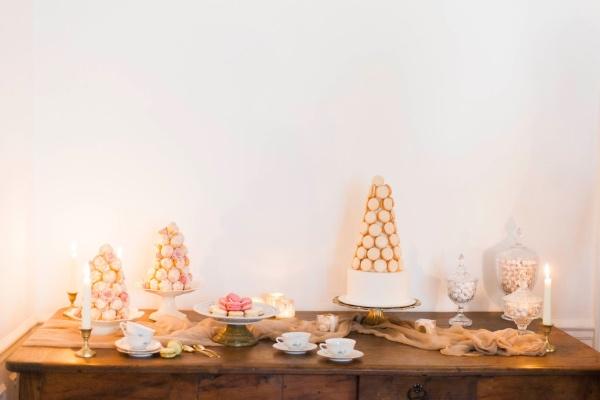 france dessert table