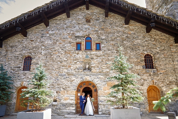 french alps wedding venue
