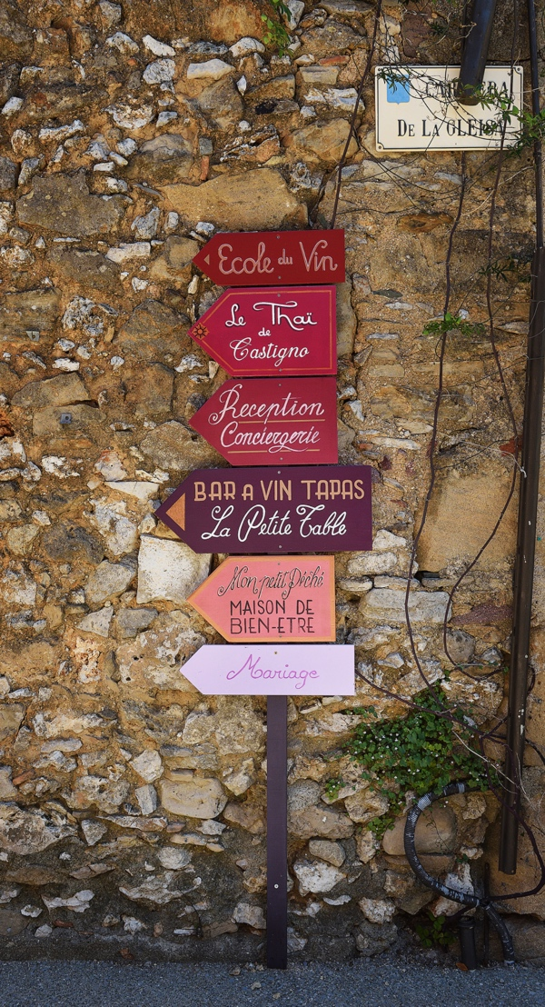 french wedding sign