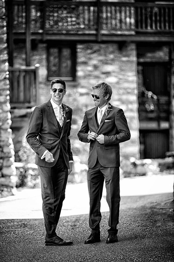groom and usher