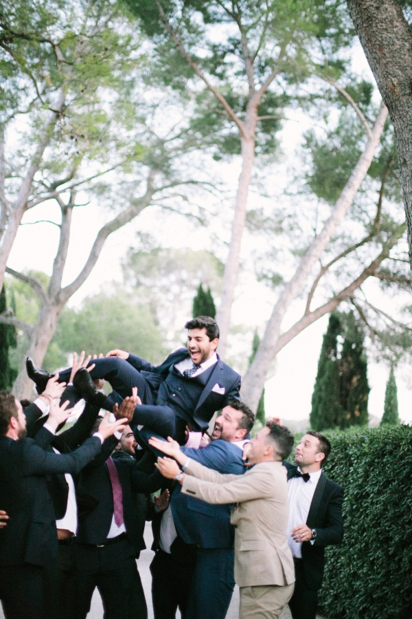 groom celebration