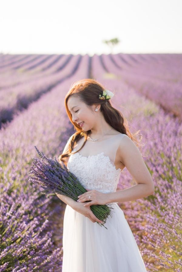 lavender bouquet style