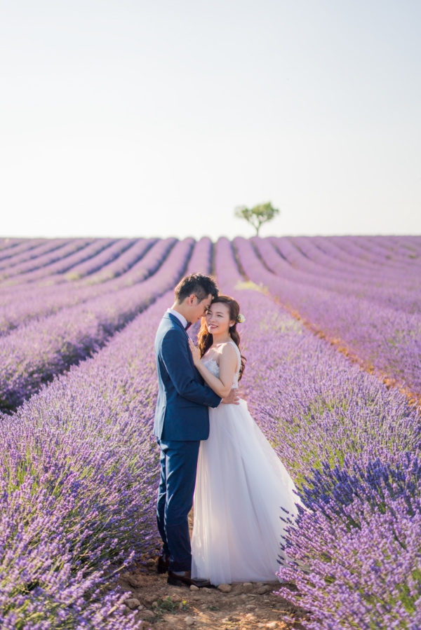 lavender couple