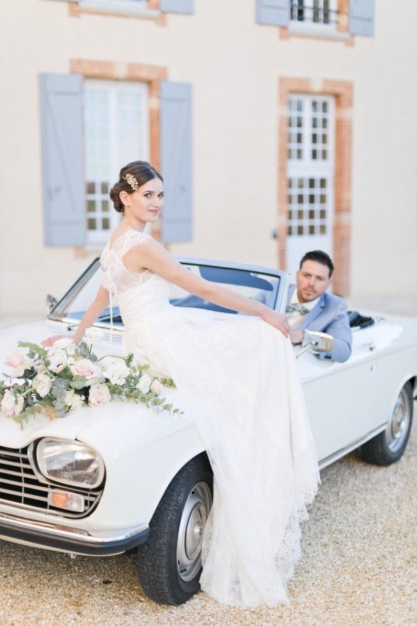 modern chateau france wedding