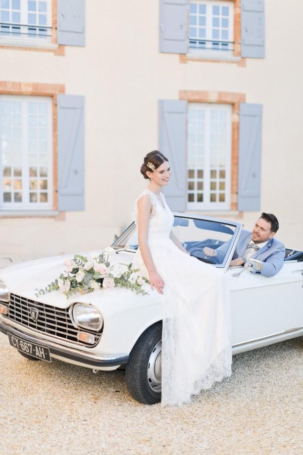 modern france wedding