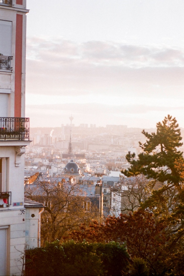 paris city landscape view
