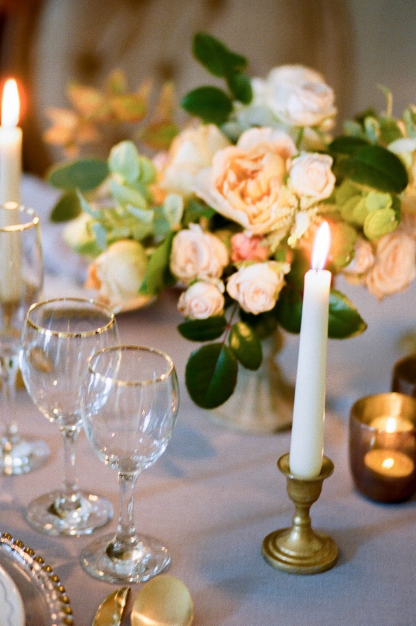 paris wedding table