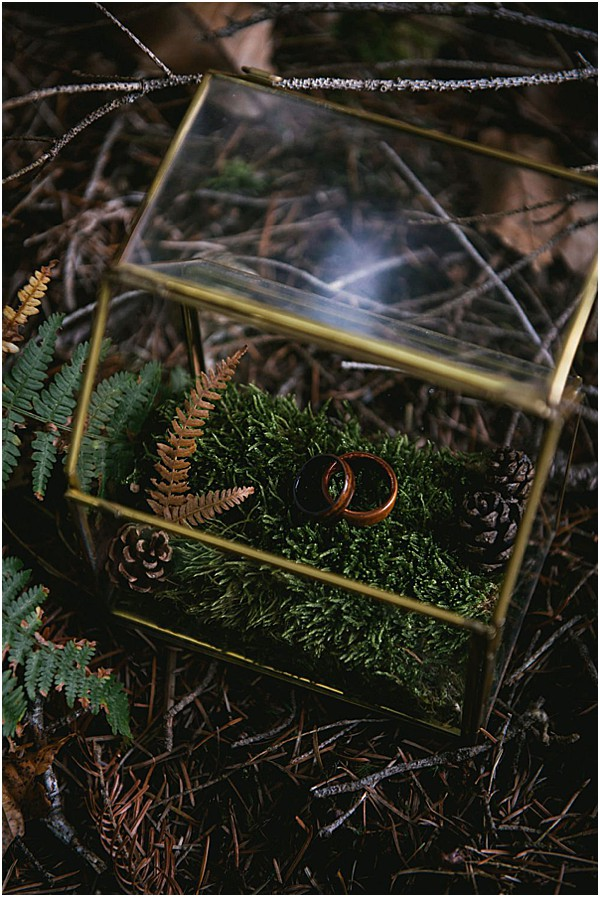 rings in a glass ring box france