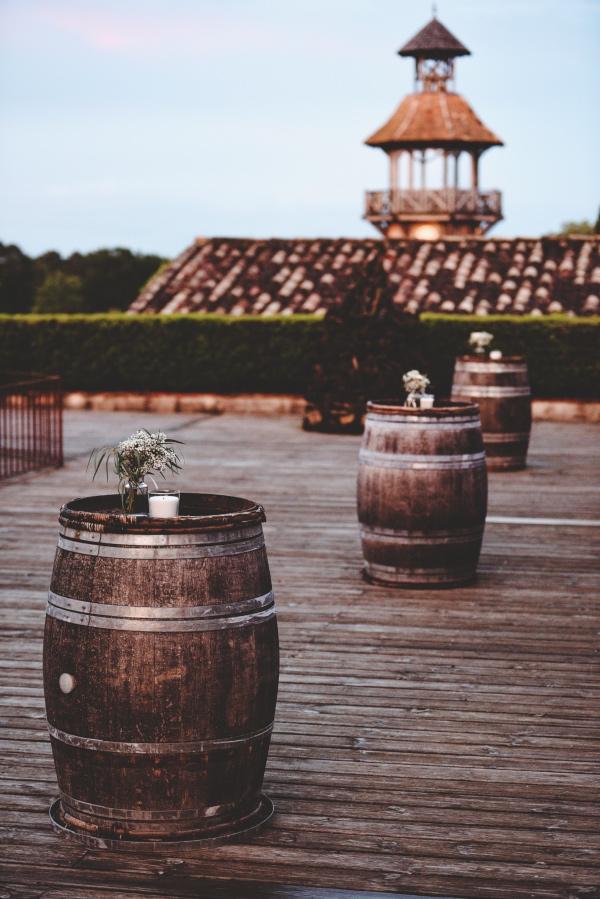 rustic barrels france