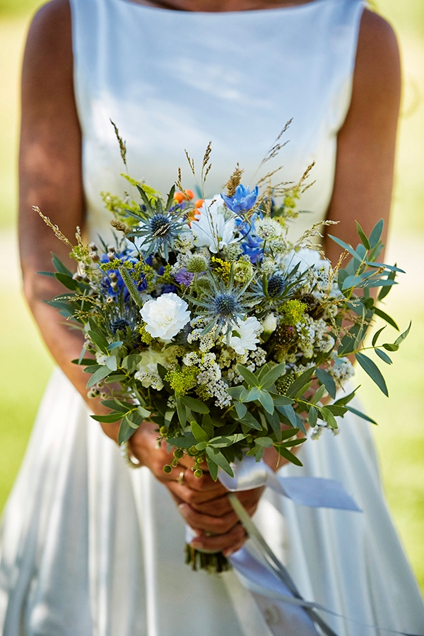 rustic french bouquet