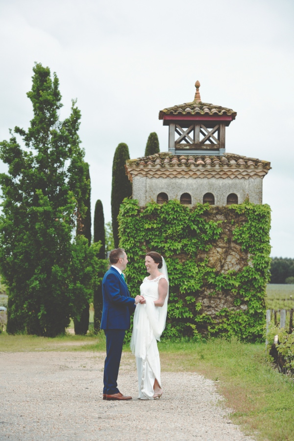 vineyard wedding france