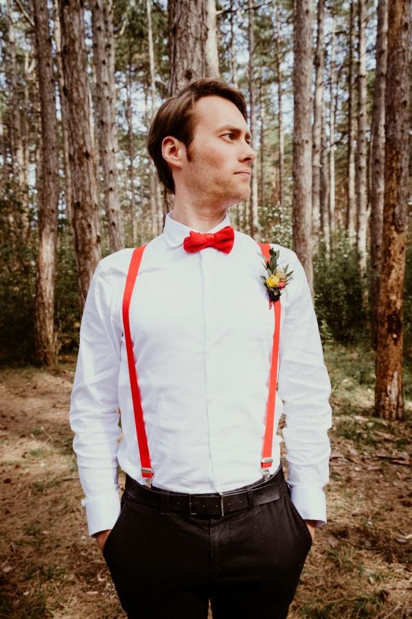 vintage groom outfit