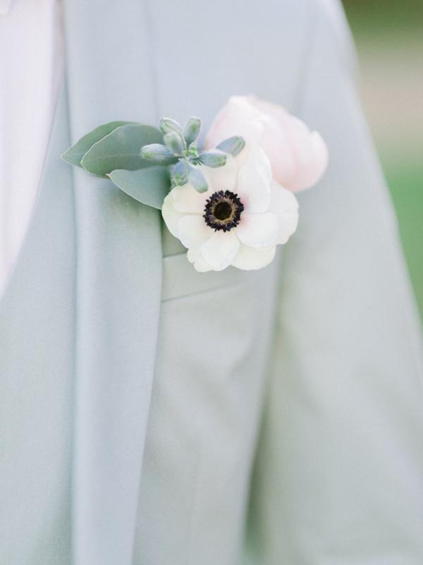 white buttonhole